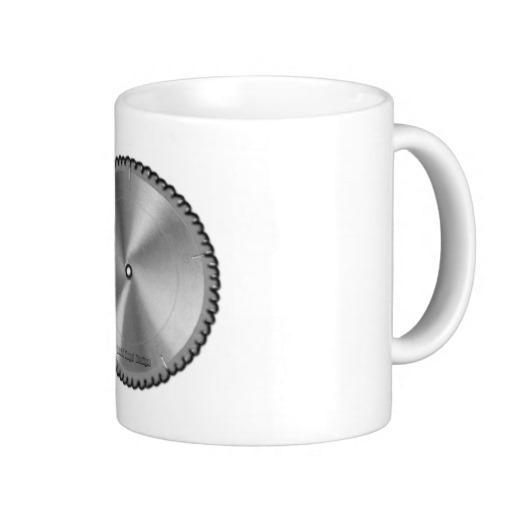 Saw Blade Classic White Mug