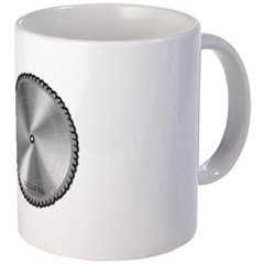 Saw Blade Coffee Mug
