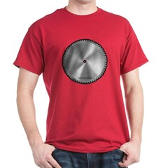 Saw Blade Dark T-shirt