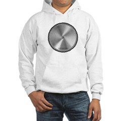 Saw Blade Hooded Sweatshirt