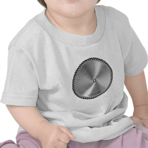 Saw Blade Infant T-Shirt