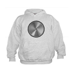 Saw Blade Kids Sweatshirt by Hanes