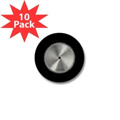 Saw Blade Mini Button (10 pack)
