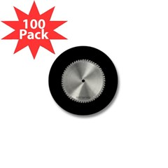 Saw Blade Mini Button (100 pack)