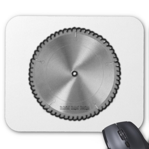 Saw Blade Mousepad