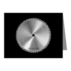 Saw Blade Note Cards (Pk of 10)