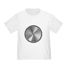 Saw Blade Toddler T-Shirt
