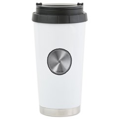 Saw Blade Travel Mug