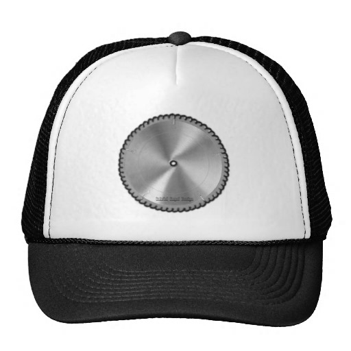 Saw Blade Trucker Hat