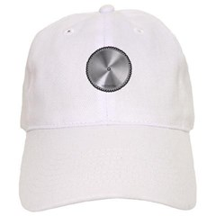 Saw Blade Unstructured Baseball Cap