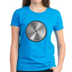 Saw Blade Women's Dark T-Shirt