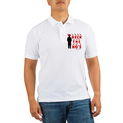 Deck the Ho's Men's Golf Shirt