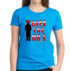 Deck the Ho's Women's Dark T-Shirt