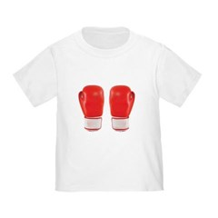 Red Boxing Gloves Toddler T-Shirt