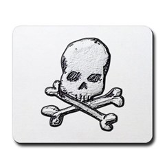 Skull and Bones Mousepad