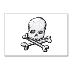 Skull and Bones Postcards (Package of 8)