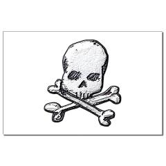 Skull and Bones Small Posters