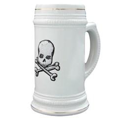 Skull and Bones Stein