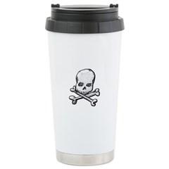 Skull and Bones Travel Mug