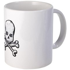 Skull and Cross Bones Coffee Mug