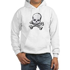 Skull and Cross Bones Hooded Sweatshirt