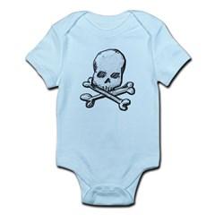 Skull and Cross Bones Infant Bodysuit