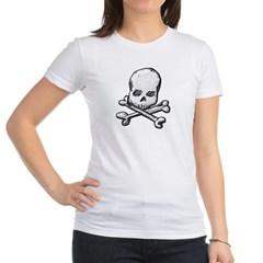 Skull and Cross Bones Junior Jersey T-Shirt