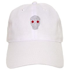 Day of the Dead Skull Baseball Cap