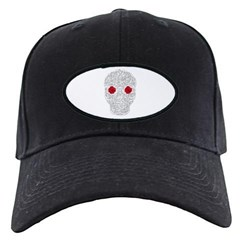 Day of the Dead Skull Baseball Hat