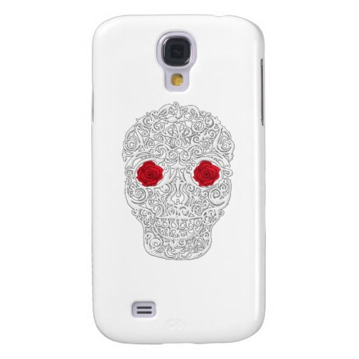 Day of the Dead Skull Case-Mate Barely There Samsung Galaxy S4 Case