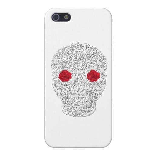 Day of the Dead Skull Case Savvy Matte Finish iPhone 5/5S Case