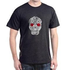 Day of the Dead Skull Dark T-shirt