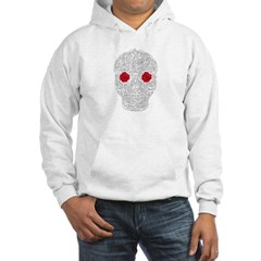 Day of the Dead Skull Hooded Sweatshirt