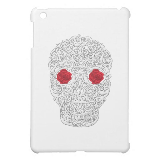 Day of the Dead Skull iPad Mini Matte Finish Case