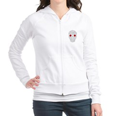 Day of the Dead Skull Junior Zip Hoodie