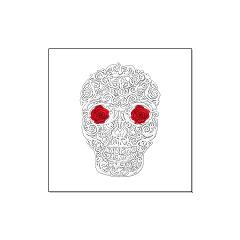 Day of the Dead Skull Large Posters