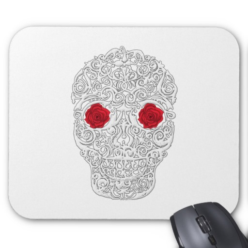 Day of the Dead Skull Mousepad