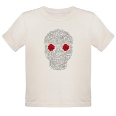 Day of the Dead Skull Organic Toddler T-Shirt