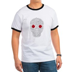 Day of the Dead Skull Ringer T-Shirt