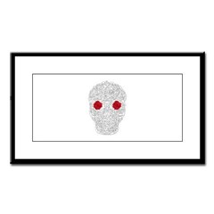 Day of the Dead Skull Small Framed Print