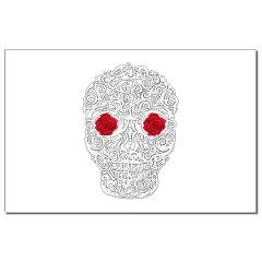 Day of the Dead Skull Small Posters