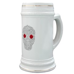 Day of the Dead Skull Stein