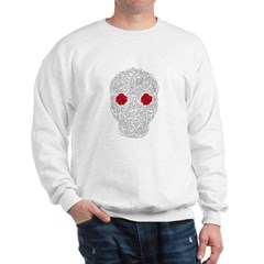 Day of the Dead Skull Sweatshirt