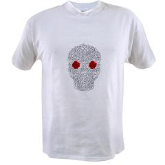 Day of the Dead Skull Value T-shirt