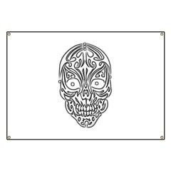 Tribal Skull Banner
