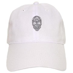 Tribal Skull Baseball Cap
