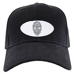 Tribal Skull Baseball Hat