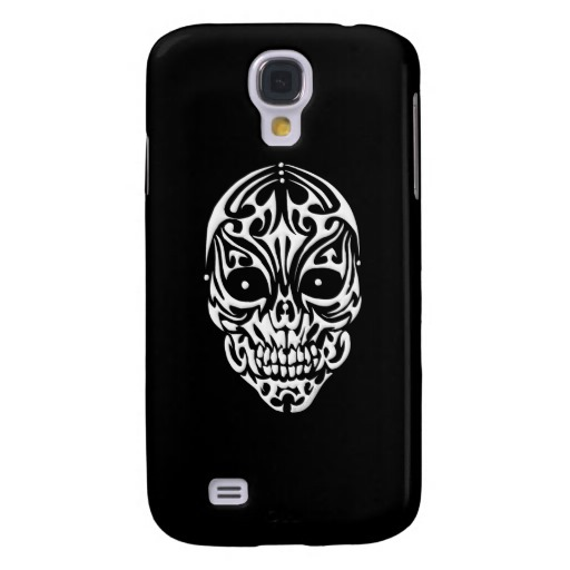 Tribal Skull Case-Mate Barely There Samsung Galaxy S4 Case