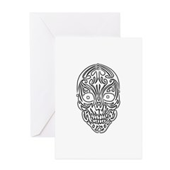 Tribal Skull Greeting Cards (Pk of 10)