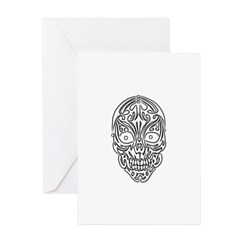 Tribal Skull Greeting Cards (Pk of 20)